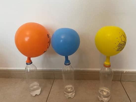 Science week Incredible Inflating Balloons