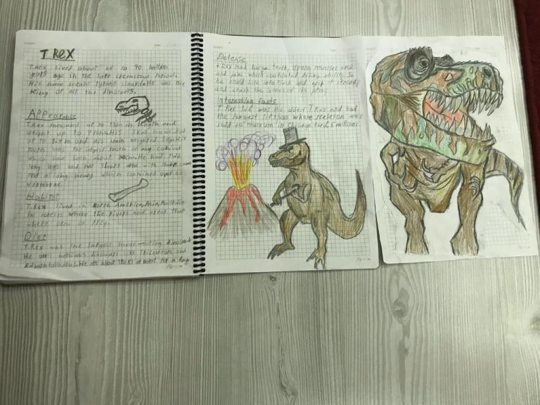 Student Work T Rex